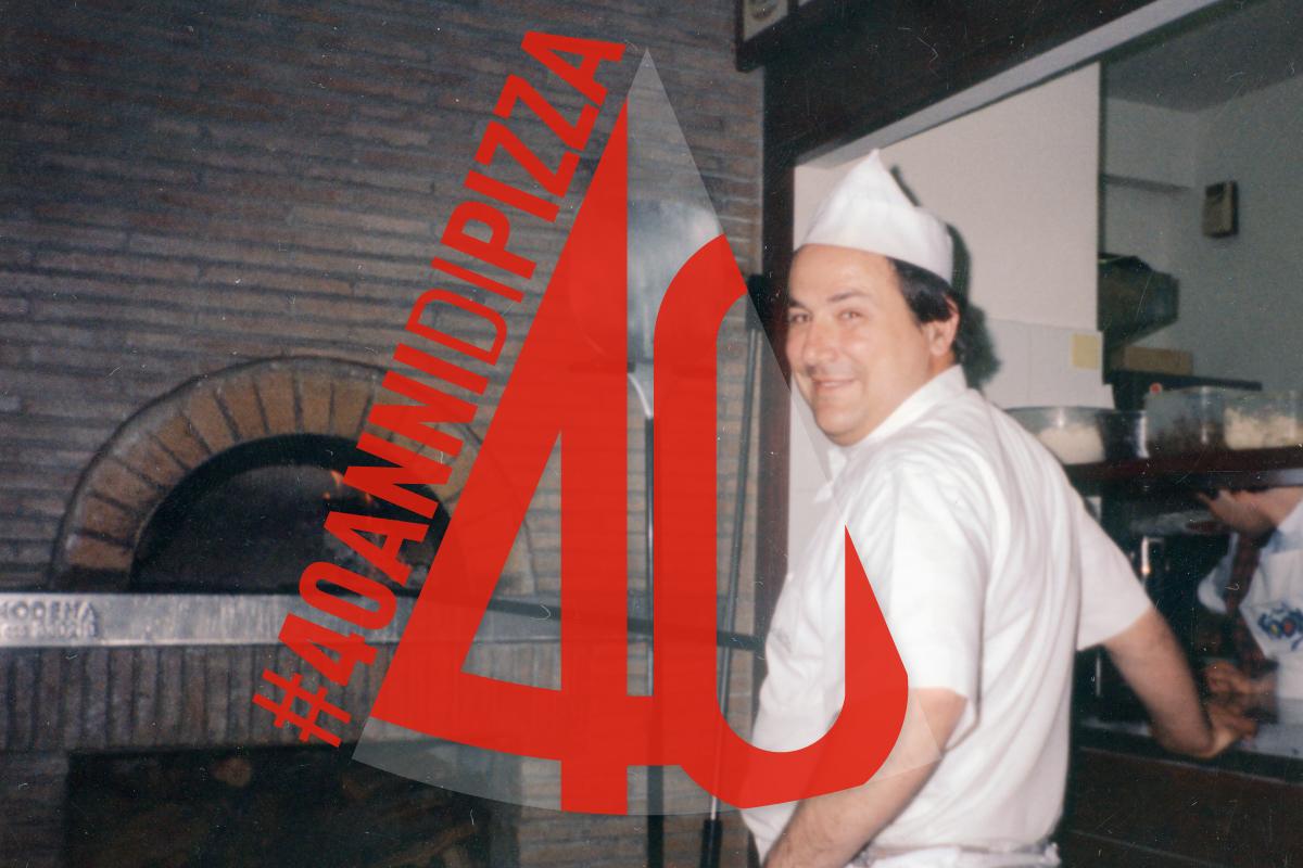 40 anni pizzeria La Scaletta